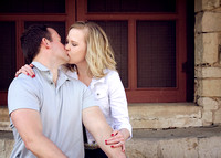 Mindy & Jake {engagement portraits}